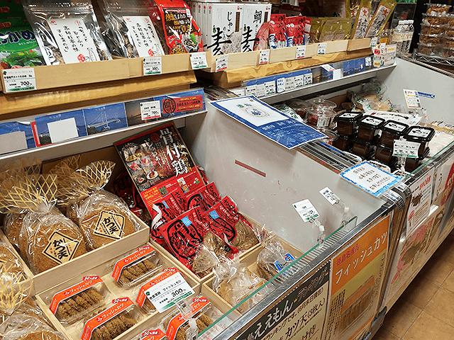 目を惹く地酒のラインナップ!徳島・香川トモニ市場。