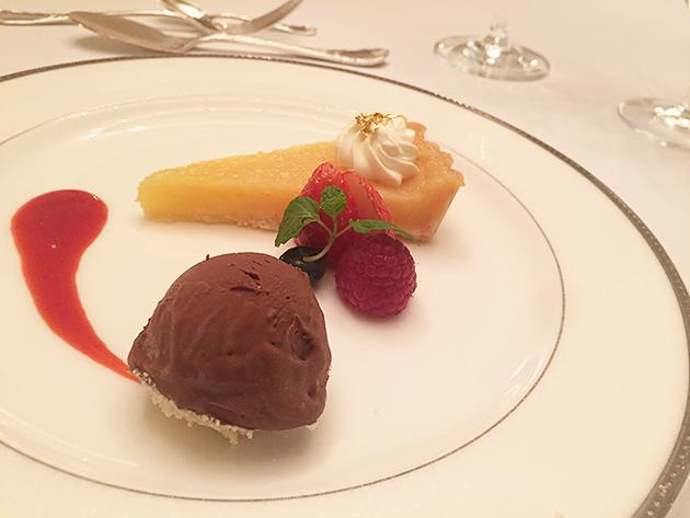 グランドプリンスホテル高輪のフランス料理ル・トリアノン