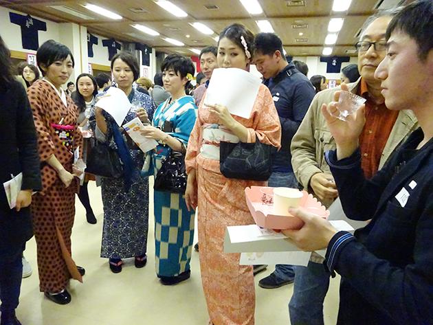 日本酒マッチングを通して多くの人々に日本酒の楽しさ、奥深さを伝えた