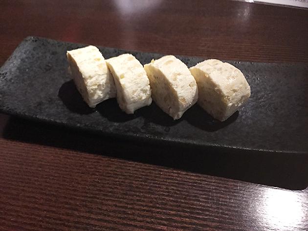 春鹿の奈良漬けクリームチーズ