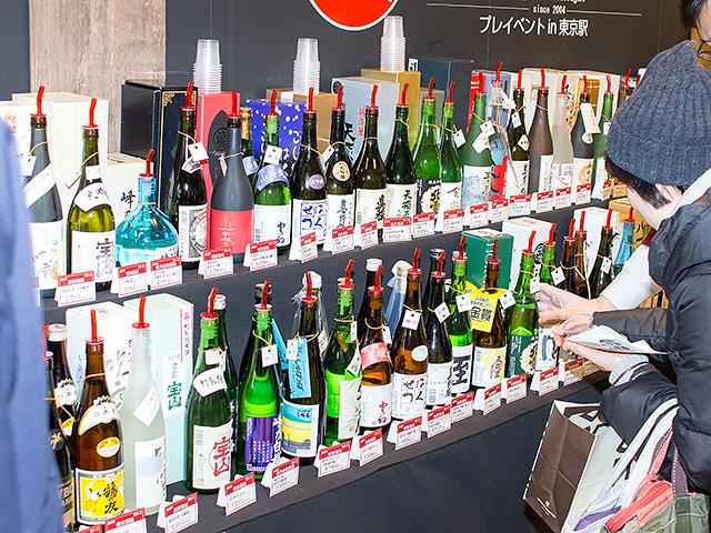 新潟のほぼ全ての酒蔵の日本酒が試飲できる 「新潟淡麗 にいがた酒の陣」プレイベントが東京駅で開催