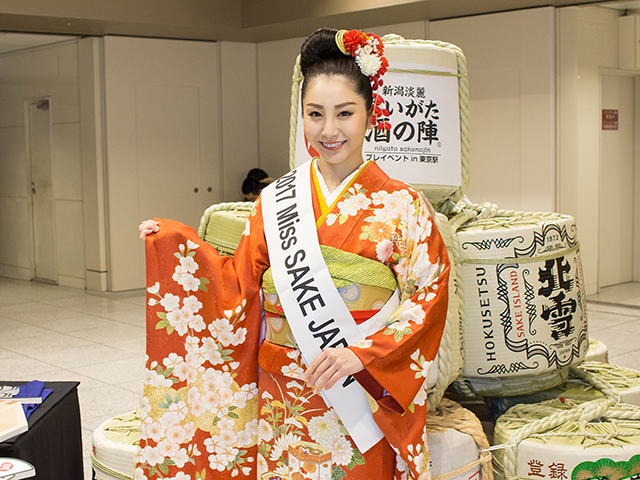田中さんは日本酒唎酒師の資格をお持ちです