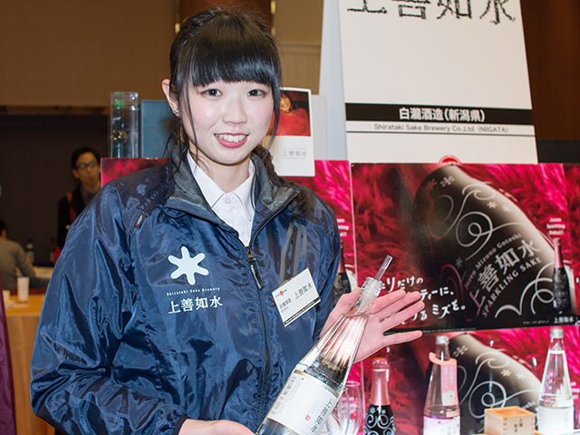 「白瀧酒蔵株式会社」営業推進部主任の坂下千宏さん