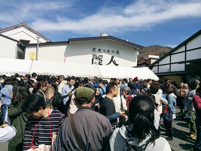 日本酒五蔵を呑み歩き出来る「上諏訪街道 春の呑み歩き」 2018年は2日間の開催が決定