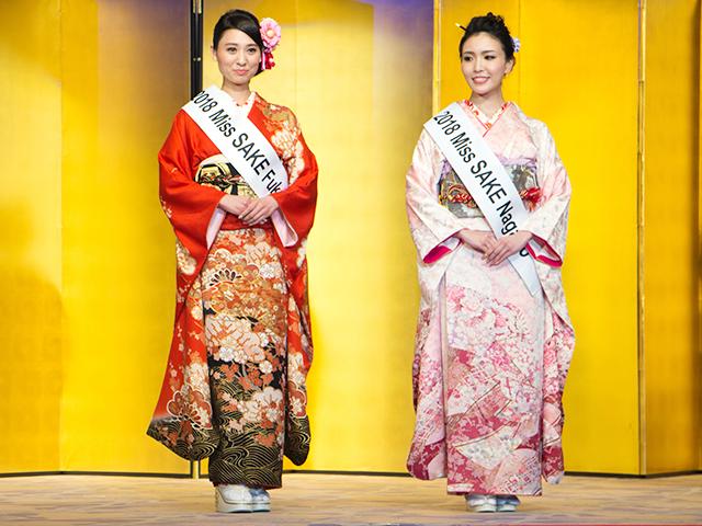 左から堀井雅世(福島代表)、児玉アメリ彩(長野代表)