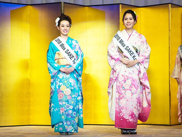 左から高野桃子(栃木代表)、中村佳美(高知代表)