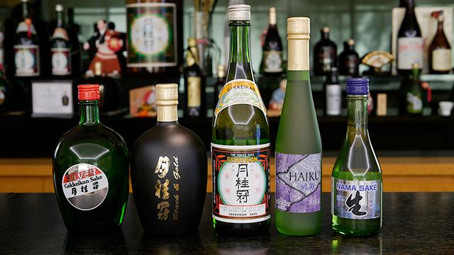 米国月桂冠で造られている日本酒(画像提供:月桂冠)