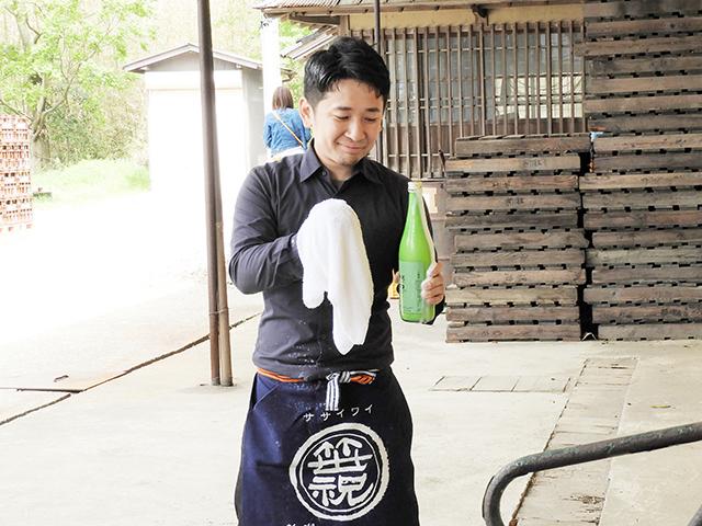 酒蔵で食フェス開催!笹祝酒造6代目笹口亮介さんにインタビュー