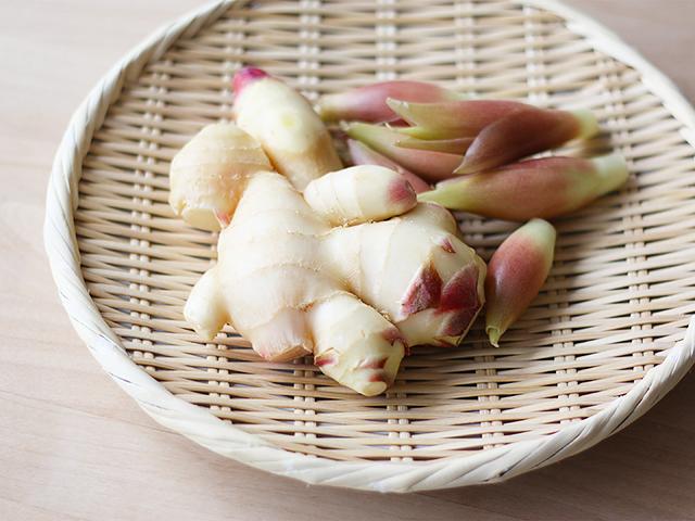 新生姜と茗荷のピクルス