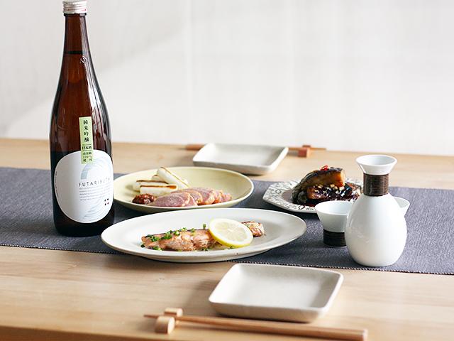 四季を楽しむ、日本酒と料理のマリアージュ01【秋の食材編】