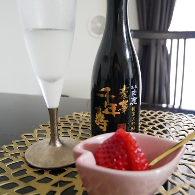 この時期こそ試したい!日本酒×苺マリアージュのポイントは「酸」! 是非自分でも試してみて!
