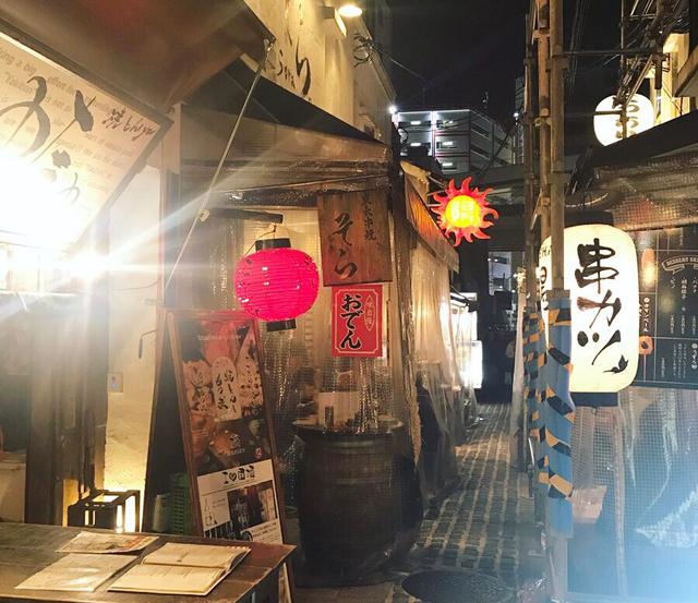 「大阪梅田の『お初天神』で日本酒飲み歩き!」
