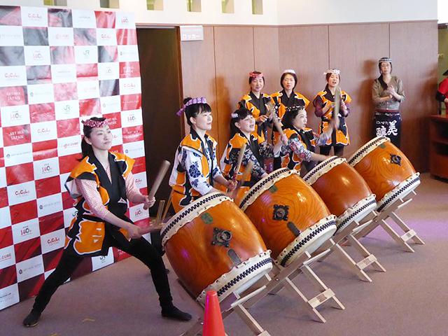 太鼓部「酔龍(すいりゅう)」はお酒や地域のイベントに多く出演