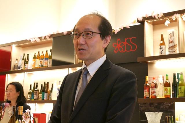 【日本の酒情報館】で楽しむインドア花見!お酒はなんと1杯¥100〜!